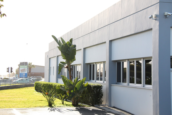 Toumazi Physio Gallery - Toumazis building garden