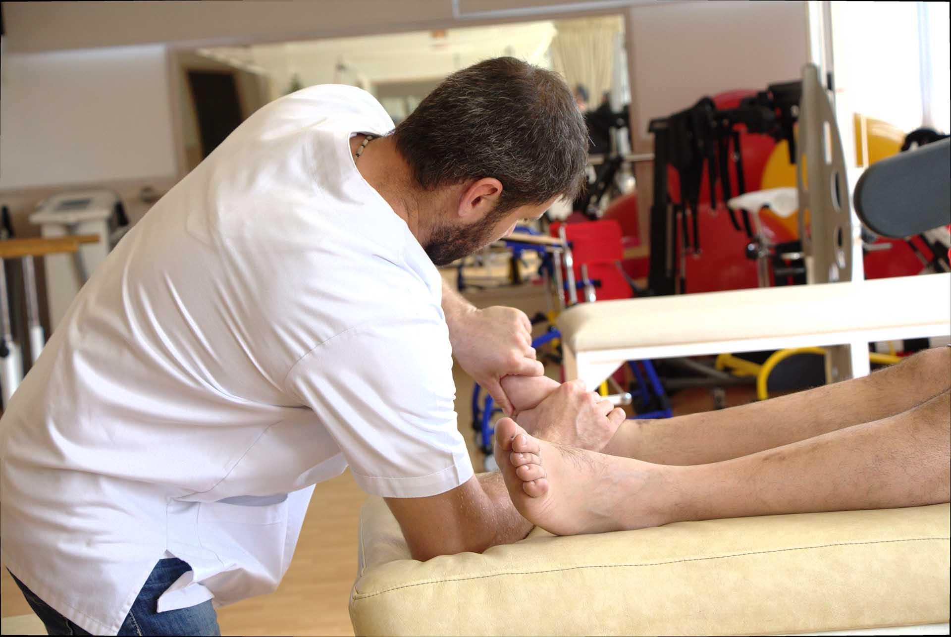 Toumazi Physio Gallery - Kinesiotherapy foot