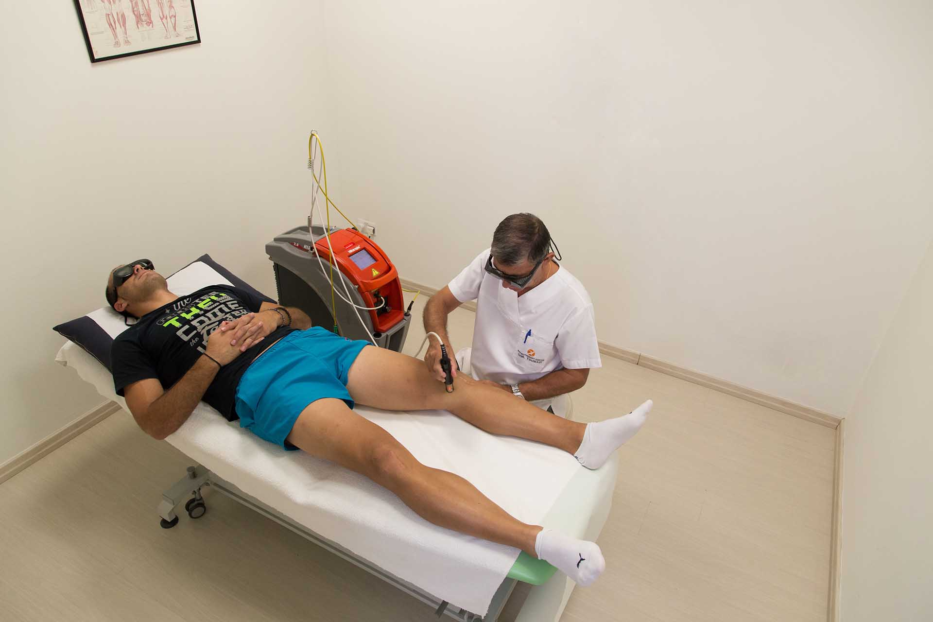 Toumazi Physio Gallery - Physiotherapy laser therapy