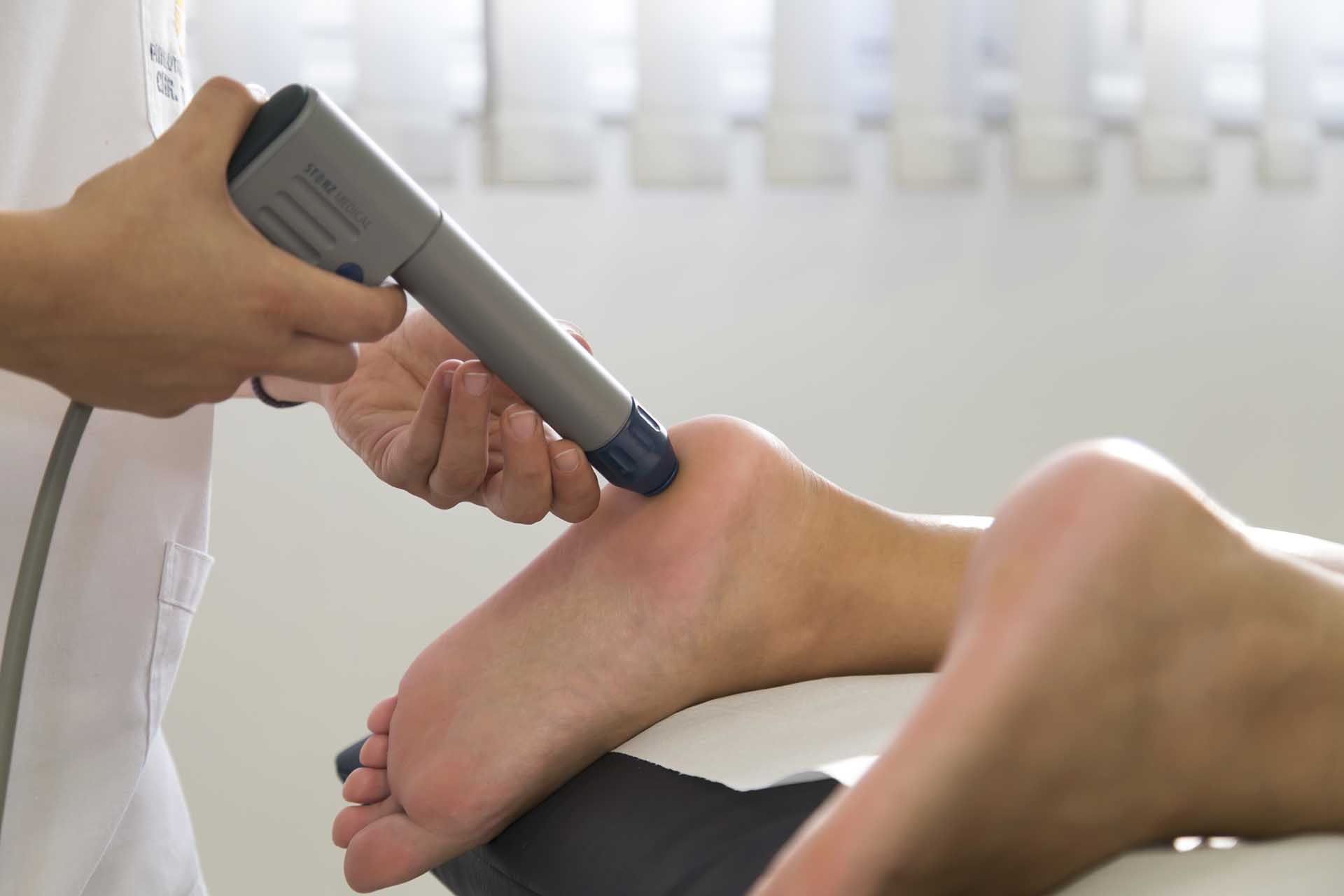 Toumazi Physio Gallery - Shock wave therapy